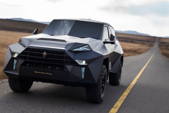 THE MOST EXPENSIVE SUV IN THE WORLD COSTS 1.8 MILLION DOLLARS AND WEIGHS 6 TONS
