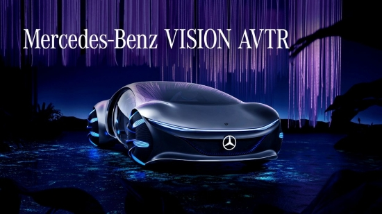 CES 2020: MERCEDES-BENZ CREATED THE VISION AVTR, A CAR INSPIRED BY AVATAR