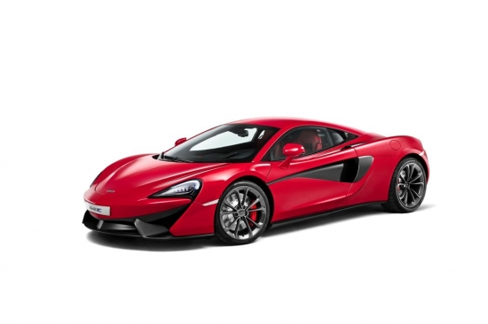 MCLAREN 540C NEW IMAGE AND FEATURES