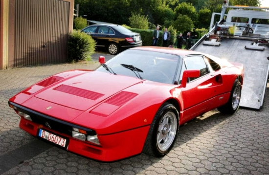 A FERRARI 288 GTO WORTH MORE THAN 2 MILLION DOLLARS WAS STOLEN